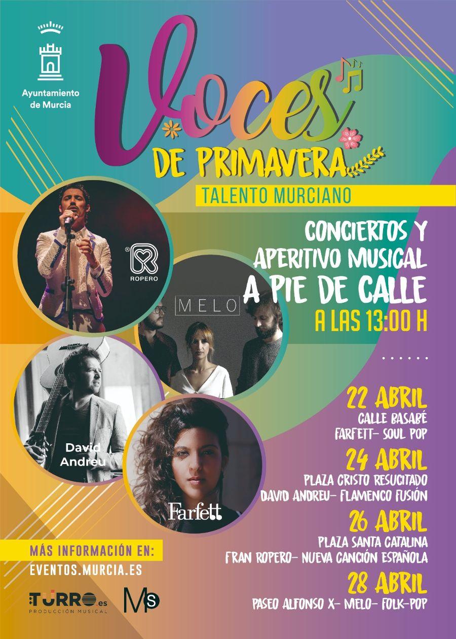 Voces de Primavera concierto Farfett Murcia